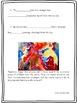 Volcanoes Art and Language Arts Activity/Great Bulletin bo