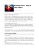 Volcanoes Article