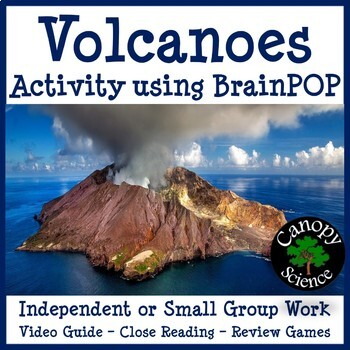 Volcanoes Activity using BrainPOP