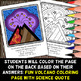 Volcanoes - Color by Number