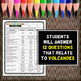 Volcanoes Color by Number - Science Color by Number