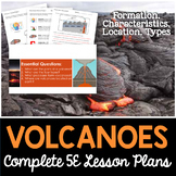 Volcanoes Complete 5E Lesson Plan