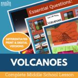 Volcanoes Complete 5E Lesson Plan