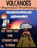 Volcanoes Crossword