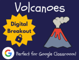Volcanoes - Digital Breakout! (Escape Room, Brain Break)