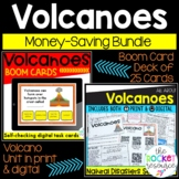 Volcanoes Unit and BOOM cards BUNDLE