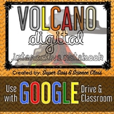 Volcano Digital Interactive Notebook - GOOGLE