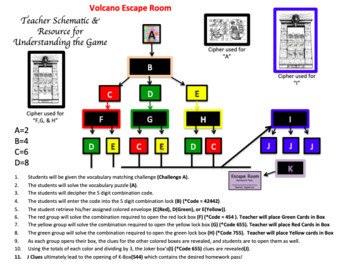 Volcanoes Escape Rooms