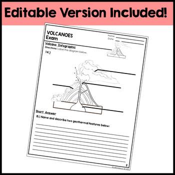 Volcanoes Exam - Assessment
