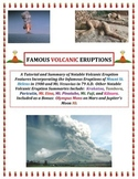 Volcanoes:  Famous Eruptions (Vesuvius and Pompeii FEATURED!)  The LARGE Version