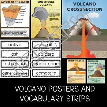 Volcanoes Flipper Book
