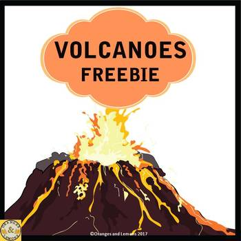 Volcanoes Freebie