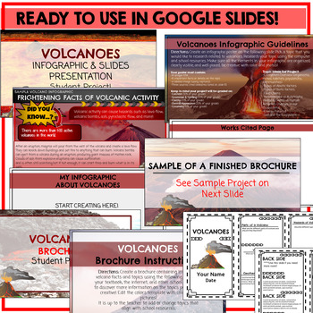 Volcanoes Google Classroom Student Projects
