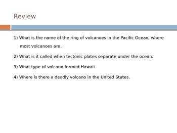 Volcanoes - Hot Spots (Hawaii)