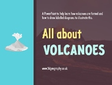 Volcanoes - How are they formed? (Complete lesson)