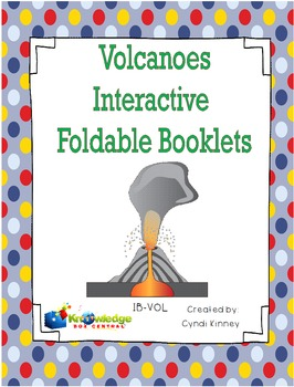 Volcanoes Interactive Foldable Booklets