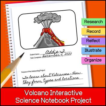 Volcanoes | Interactive Science Notebook Project