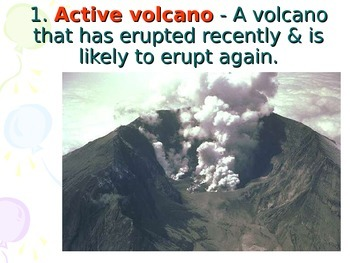 Volcanoes Key Terms Quiz
