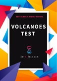 Volcanoes Middle School Quiz