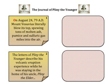 Volcanoes:  Mount Vesuvius and Pompeii Through the Eyes of Pliny The Younger