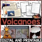 Volcanoes Pack - Printables, Interactive Notebook, Editable PowerPoint