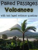 Volcanoes Paired Passages with Text Based Evidence Questions