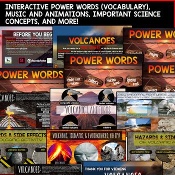 Volcanoes PowerPoint - Interactive