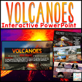 Volcanoes PowerPoint - Interactive