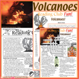 Volcanoes – Puzzle Set, Crossword, Word Search + FREE Volc