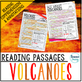 Volcanoes Reading Passages - Questions - Annotations