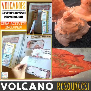 Volcanoes Activities Resource Bundle