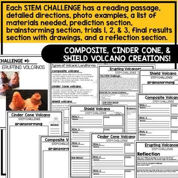 Volcanoes STEM Challenges