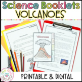 Volcanoes   Investigation Booklet Printable & Digital   Google