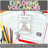 Volcanoes Science Investigation Booklet Printable & Digita