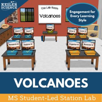 Volcanoes Student-Led Station Lab