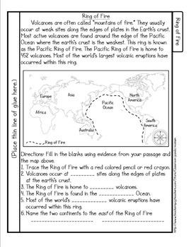 Volcanoes Tab Booklet