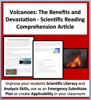 Volcanoes: The Benefits and Devastation - Science Reading Comprehension