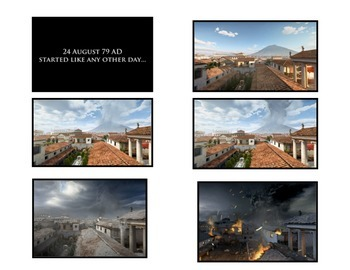 Volcanoes:  Timeline Sequence of the Demise of Pompeii  (See it in Pictures!)