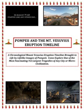 Volcanoes:  Timeline Sequence of the Demise of Pompeii  (S