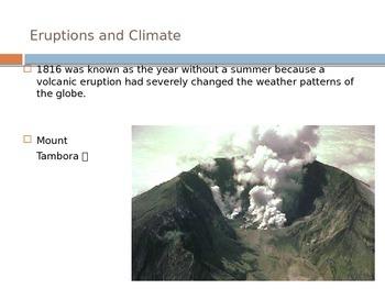 Volcanoes - Types of Volcanoes