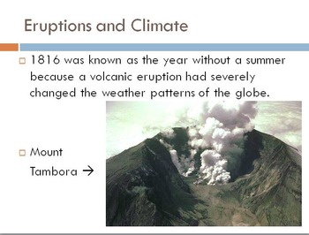 Volcanoes Unit
