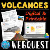 Volcanoes WebQuest