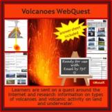 Volcanoes WebQuest