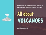 Volcanoes - Where are they located? (Complete lesson)
