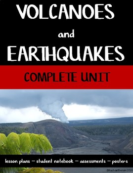 Volcanoes and Earthquakes: A Complete Unit