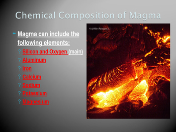 Volcanoes and Other Igneous Activity Power Point Slides
