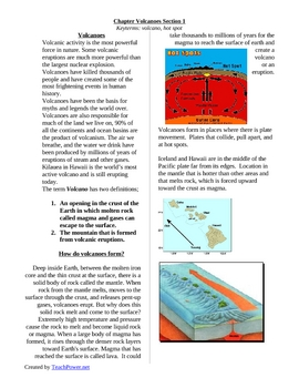 Volcanoes part 1