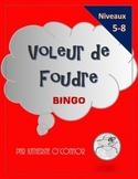 Voleur de Foudre / Lightning Thief BINGO activity for Fren