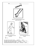 Volley worksheet