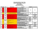 Volleyball/Athletics Season Planner